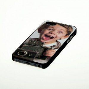 iPhone 5 hoesje met foto - zwart
