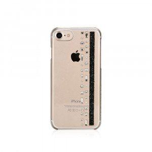 """iPhone 7-hoesje """"Jet"""" met Swarovski-kristallen"""