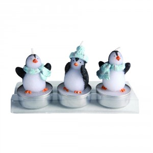 "Kaarsenset ""Pinguin"""