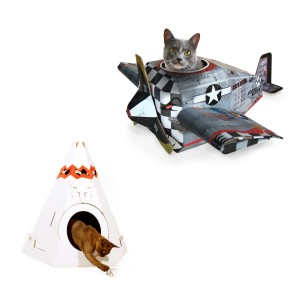Katten speelhuis