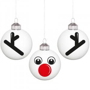 "Kerstballenset ""Rudolph"""
