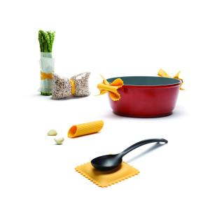 Keukenhulpen in pastadesign