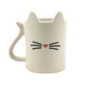 """Koffiekmok  """"Kat"""" met kattenoren"""