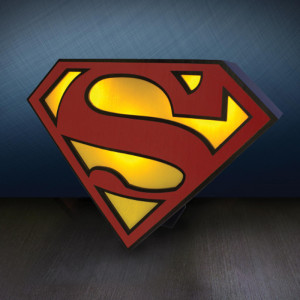 "Logo-lamp ""Superman"""