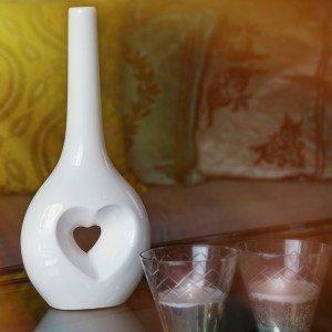 Love vaas - een vaas voor liefdesbriefjes