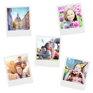 Magnetische fotolijstjes in Polaroid-stijl