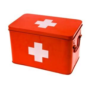 Medicijndoosje 'eerste hulp'