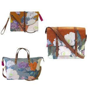 Met deze tassen doe je een echt meesterwerkje cadeau. Er is geen Monet voor uit elkaar getrokken, maar de fleurige schilderdesigns mogen er zeker zijn!