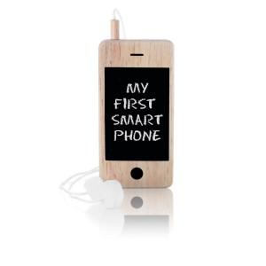 Mijn eerste smartphone - houten mobieltje