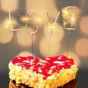 Mini sterretjes ''LOVE''