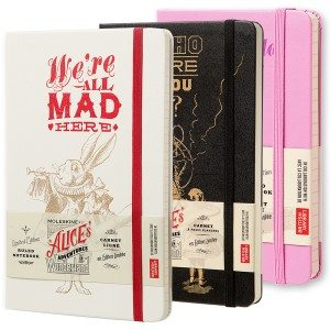 Moleskine ''Alice in Wonderland'' - notitieboekje