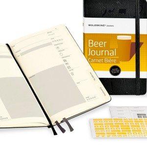 Moleskine bier notitieboekje