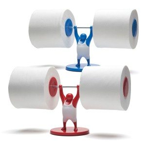 Mr. T - toiletpapierhouder