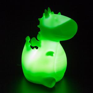 Nachtlamp: de kleine draak Orochi – groen
