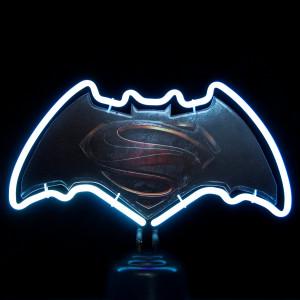 "Neonlamp ""Batman versus Superman"""