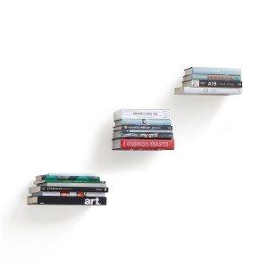 Onzichtbare boekenplanken - set van 3