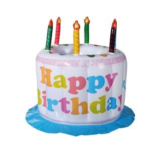 Opblaasbare drankkoeler 'verjaardagstaart'