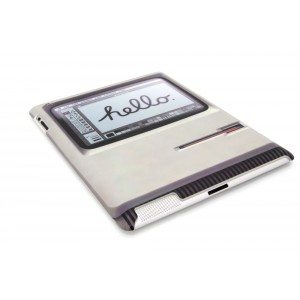 Padintosh – retro beschermhoes voor iPad 2 & 3 – Zijaanzicht