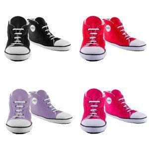 """Pantoffels """"Sneaker"""" - rood"""