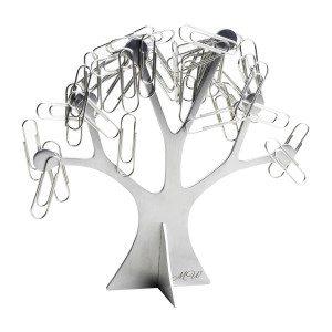 """Büroklammerhalter """"Baum"""" mit Gravur"""