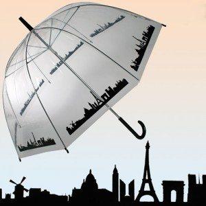Paraplu 'Skyline Parijs'