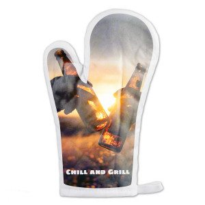 Personaliseerbare barbecuehandschoen