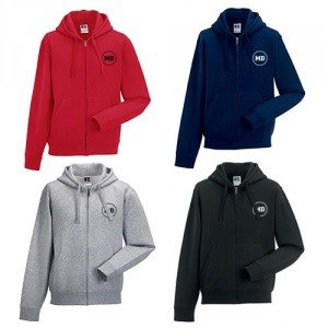 Personaliseerbare hoodie voor mannen