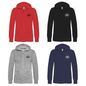 Personaliseerbare hoodie voor vrouwen