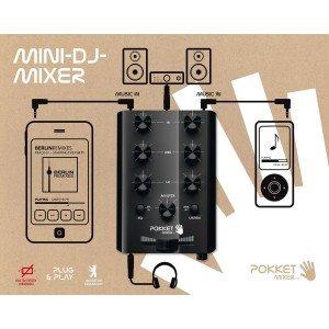 Pocket mixer - mini DJ mixtafel
