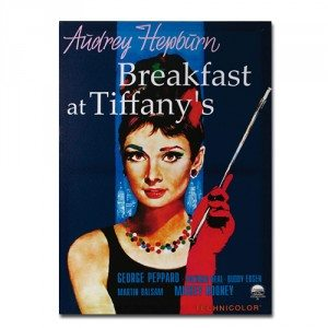Poster 'Breakfast at Tiffany's'
