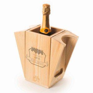 RACKPACK – Wijnkoeler met gravure - voor de levensgenieter
