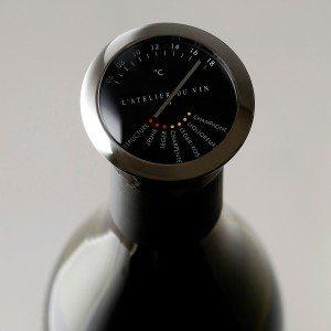 Roestvrijstalen wijnthermometer van Atelier du Vin