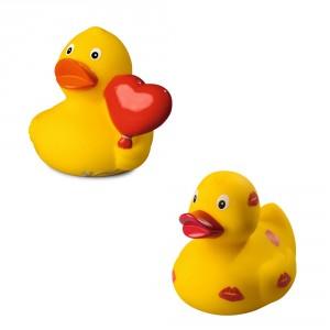 Romantische badeend