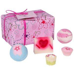 Roze badset - cadeauset voor prinsessen