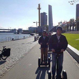 Segway tour 2 personen - Rotterdam