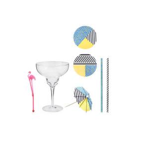 Set voor margarita of martini - verschillende accessoires