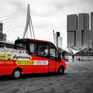Sightseeing tour voor 4 personen - Rotterdam