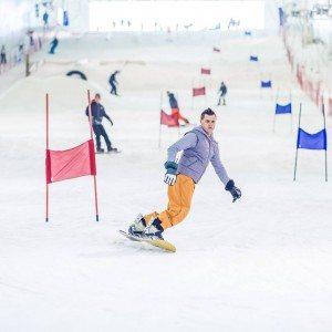 Skiën of snowboarden 2 uur - Terneuzen