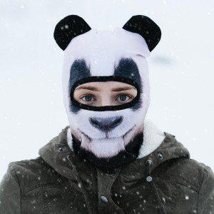 Skimasker in dierenmotief