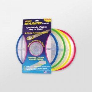 Skylighter - frisbee met LEDs