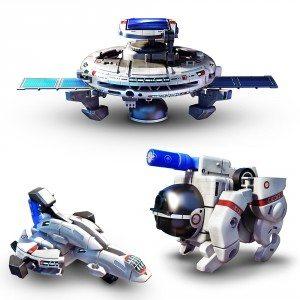 Solar Space Fleet Modelbouw Set