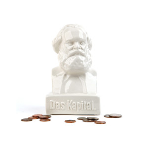 "Spaarpot ""Karl Marx"" buste"