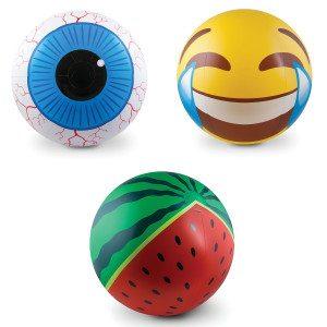 "7676 Strandball ""Emoji"", ""Wassermelone"" oder ""Auge"" 5"