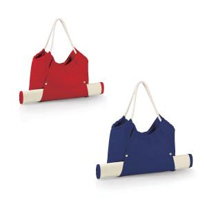 Strandtas met bamboematje - verkrijgbaar in twee kleuren