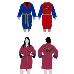 Superheldenbadjas  voor hem of haar