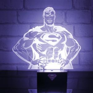 Superman-lamp