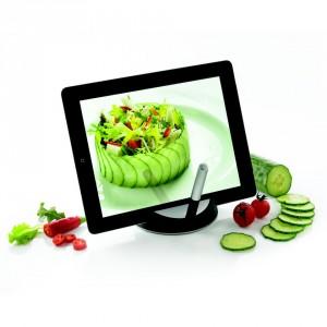 Tablet-standaard voor koks