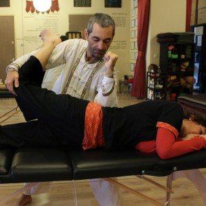 Thaise massage workshop op een tafel 1 - Amsterdam