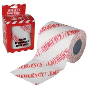 Toiletpapier 'Emergency'