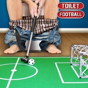 Toiletvoetbalspel